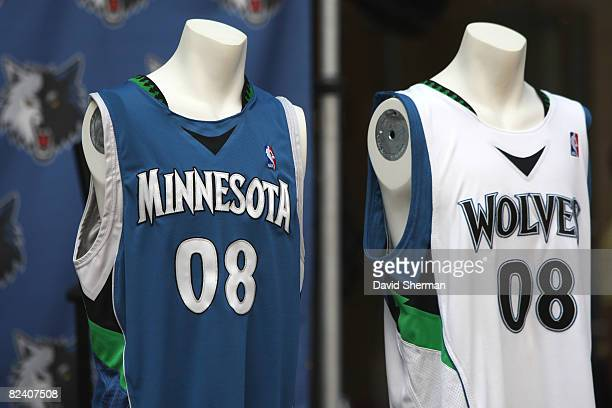 World S Best And Nba Unveil New On Court Uniforms Stock Pictures