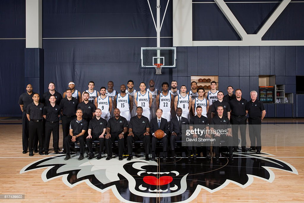 NBA Team Photos 2015-2016