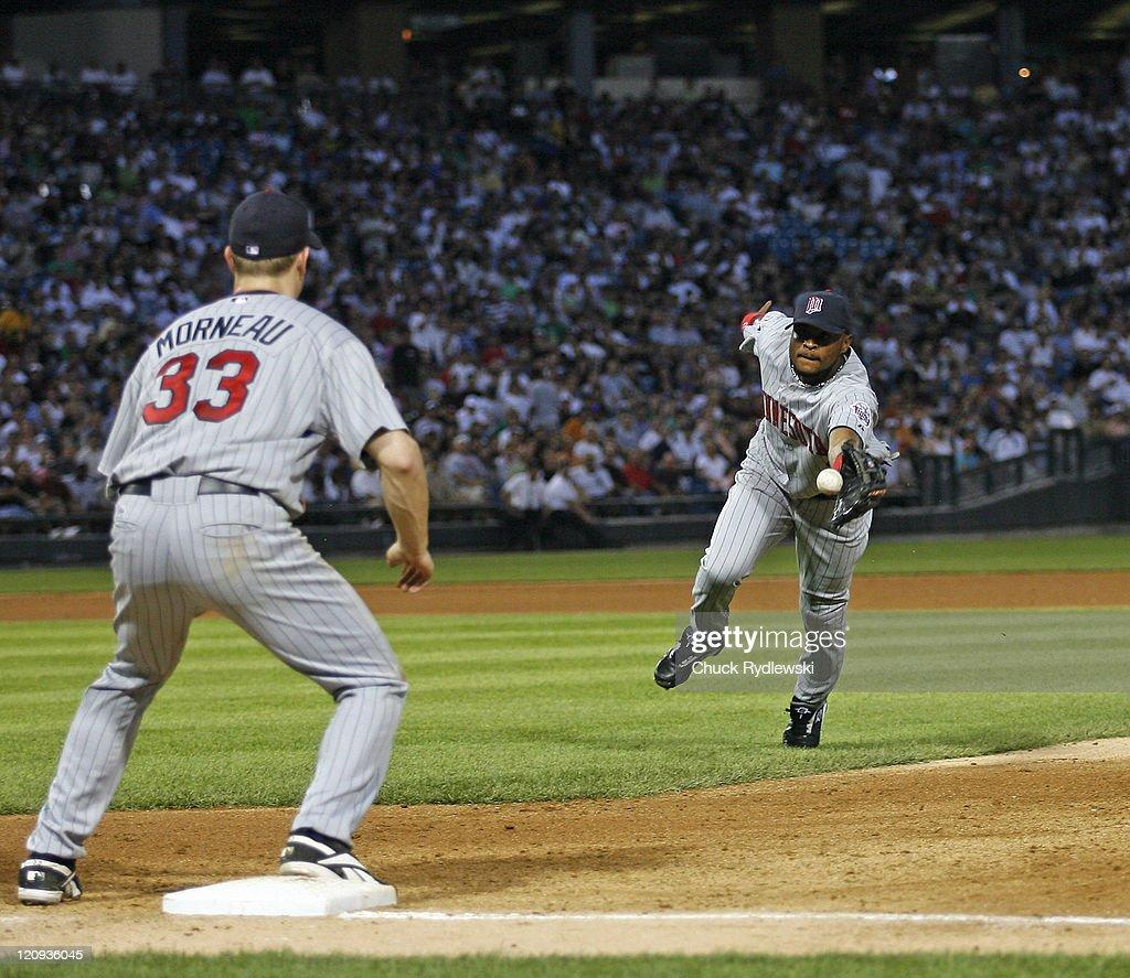 Minnesota Twins vs Chicago White Sox - July 24, 2006 : ニュース写真