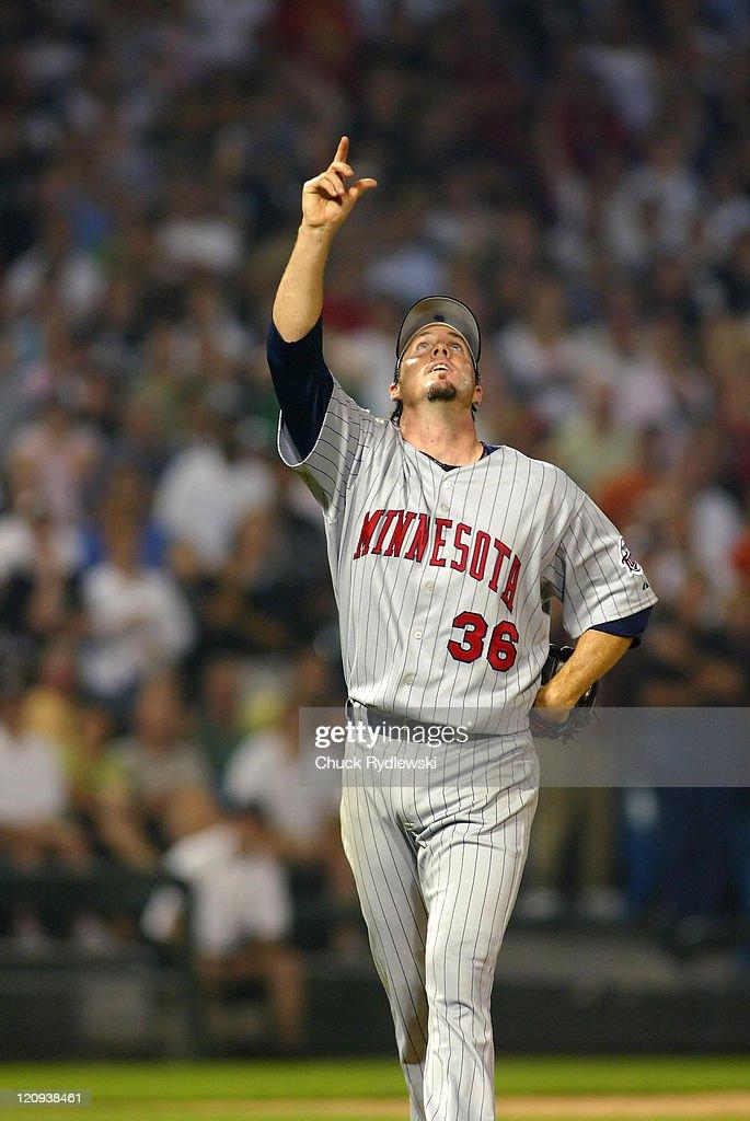 Minnesota Twins vs Chicago White Sox - August 25, 2006