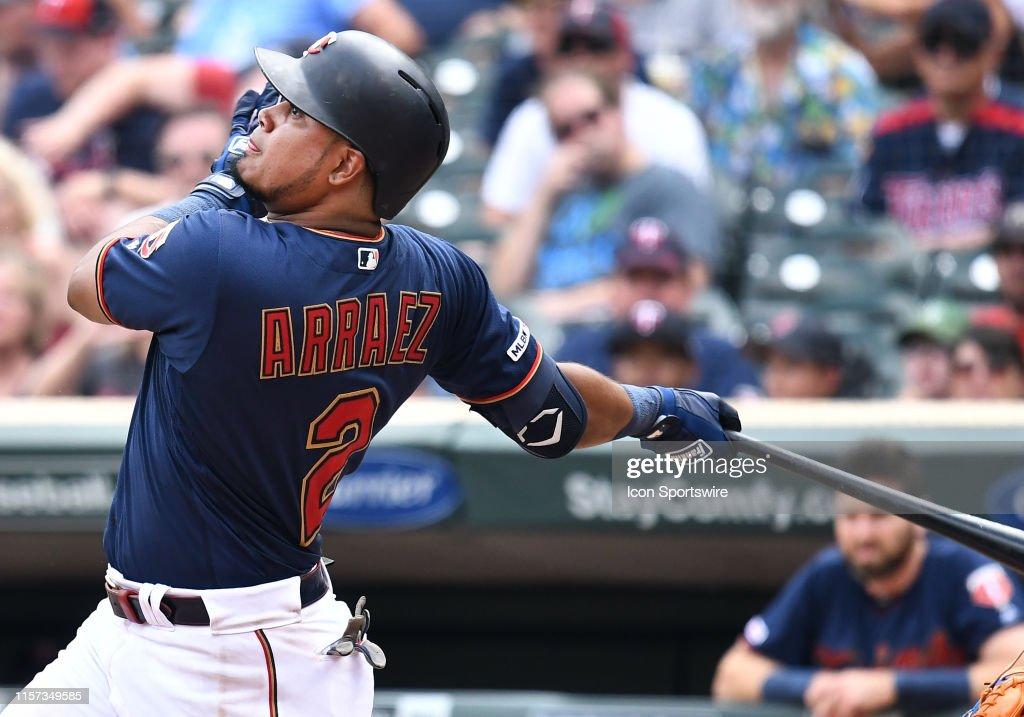 MLB: JUL 17 Mets at Twins : News Photo