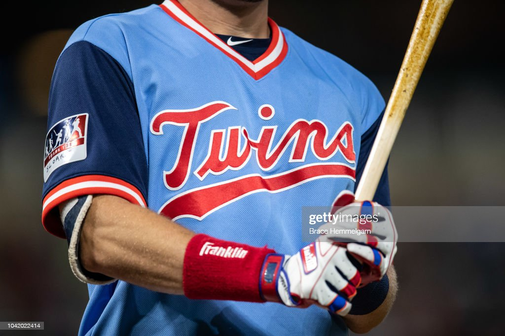 official photos 731aa 29658 A Minnesota Twins Players Weekend jersey against the Oakland ...
