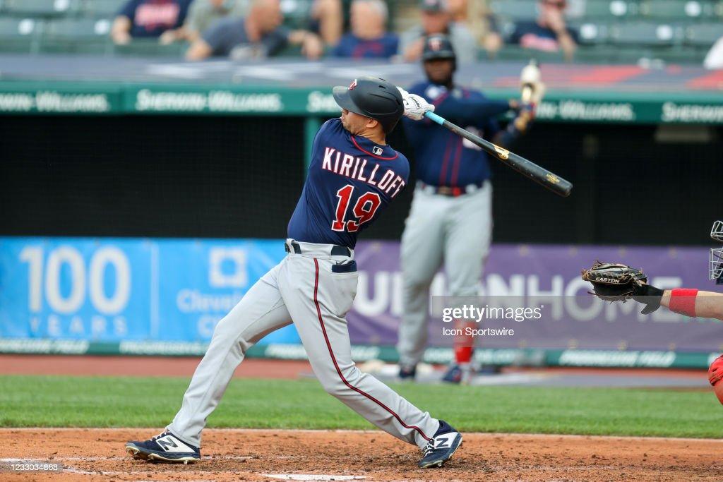 MLB: MAY 21 Twins at Indians : News Photo