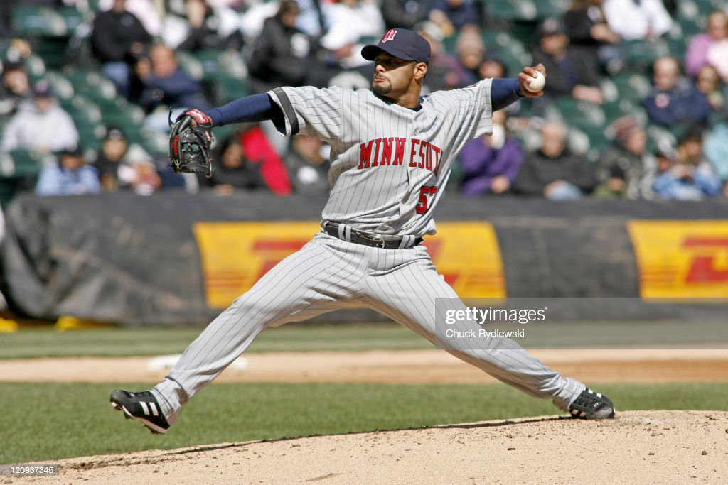 Minnesota Twins vs Chicago White Sox - April 8, 2007