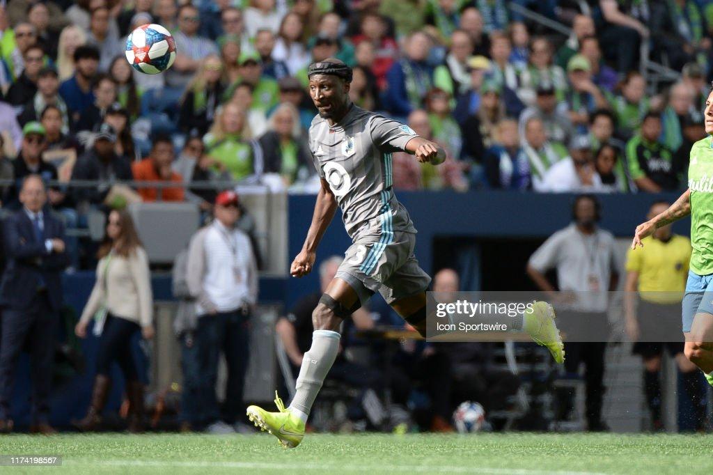 SOCCER: OCT 06 MLS - Minnesota United FC at Seattle Sounders FC : News Photo
