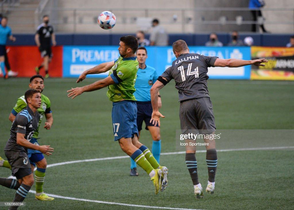 SOCCER: APR 16 MLS - Minnesota United FC at Seattle Sounders FC : News Photo