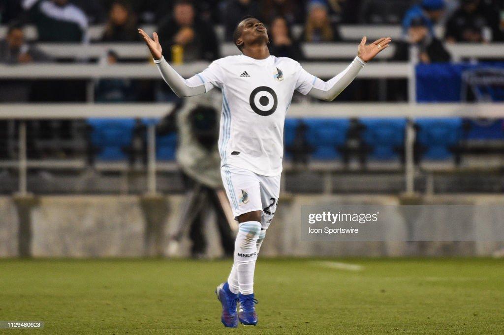SOCCER: MAR 09 MLS - Minnesota United FC at San Jose Earthquakes : News Photo