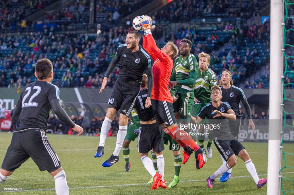 SOCCER: FEB 12 MLS - Preseason - Minesota United FC at Portland Timbers : News Photo