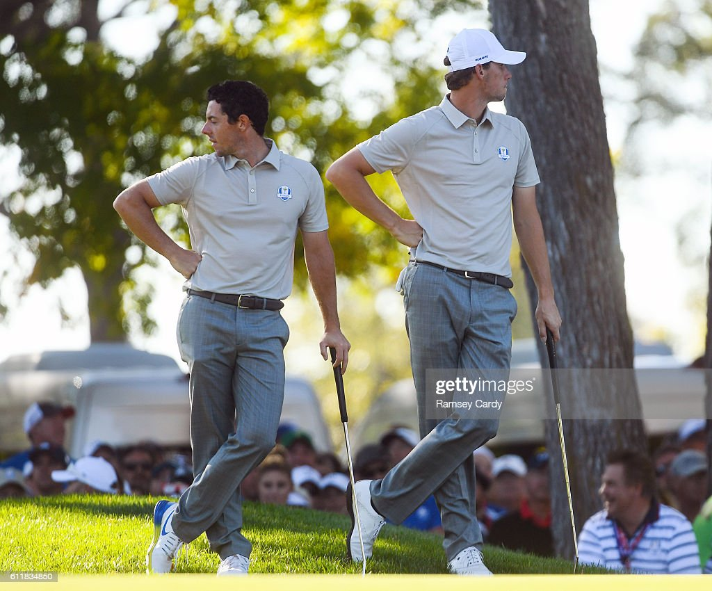 The 2016 Ryder Cup Matches - Day 2 - Afternoon Fourball Matches : News Photo