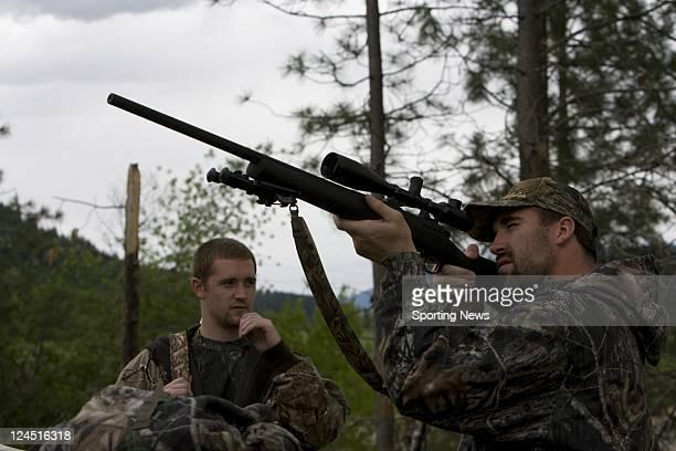 Minnesota Viking Defensive End Jared Allen Goes On A Bear Hunting Trip Near Bonners Ferry ID