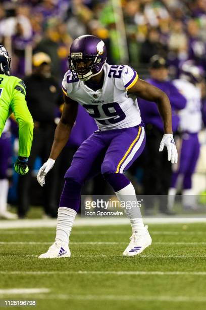 Minnesota Vikings cornerback Xavier Rhodes during the NFL regular season football game against the Seattle Seahawks on Monday Dec 2019 at CenturyLink...