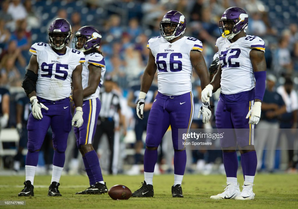 NFL: AUG 30 Preseason - Vikings at Titans : News Photo