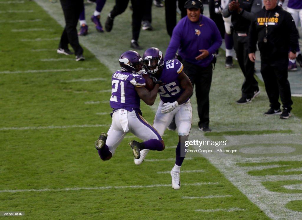 Minnesota Vikings v Cleveland Browns - NFL - Twickenham : Fotografia de notícias