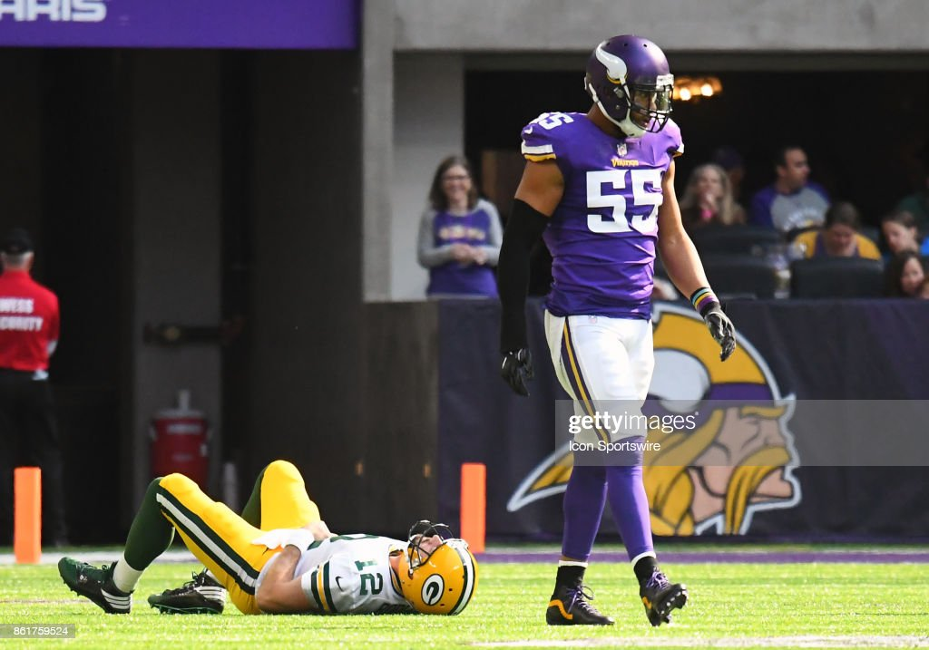 NFL: OCT 15 Packers at Vikings : News Photo