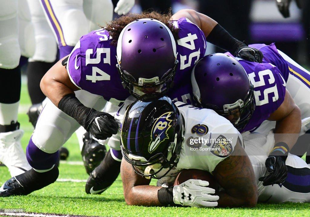 NFL: OCT 22 Ravens at Vikings : ニュース写真