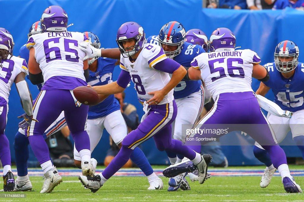 NFL: OCT 06 Vikings at Giants : News Photo