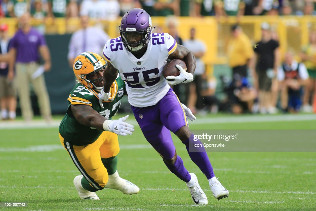 NFL: SEP 16 Vikings at Packers : Fotografia de notícias