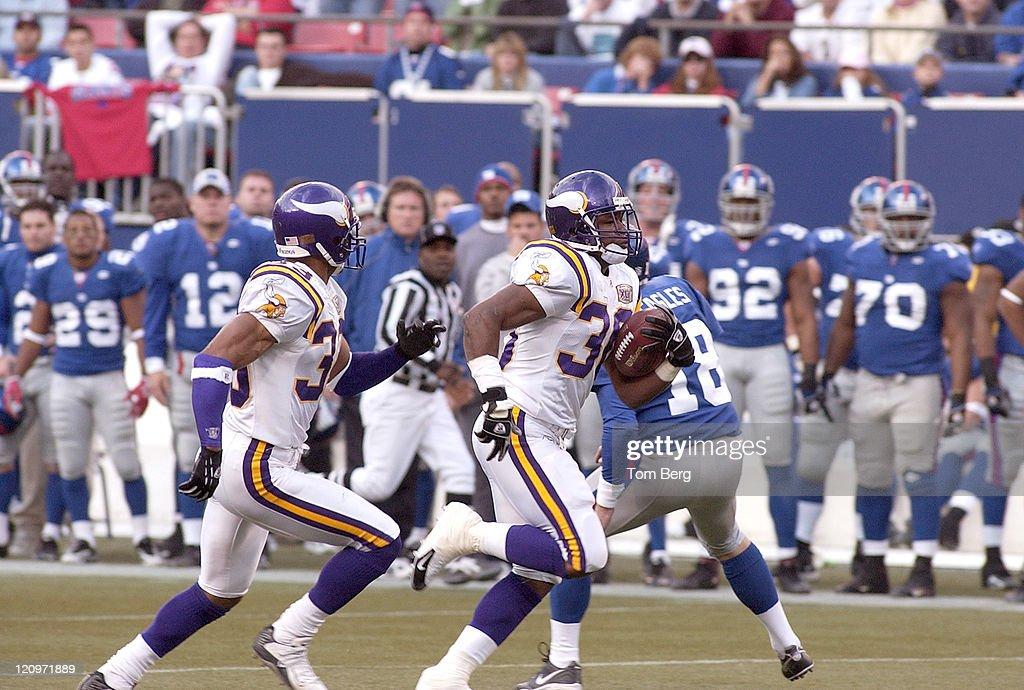 Minnesota Vikings vs New York Giants - November 13, 2005