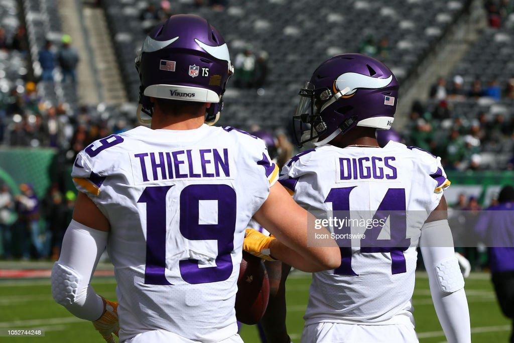 NFL: OCT 21 Vikings at Jets : News Photo