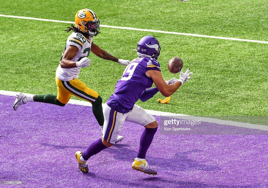 NFL: SEP 13 Packers at Vikings : News Photo