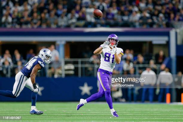 Minnesota Vikings Wide Receiver Bisi Johnson makes a reception during the game between the Minnesota Vikings and Dallas Cowboys on November 10, 2019...
