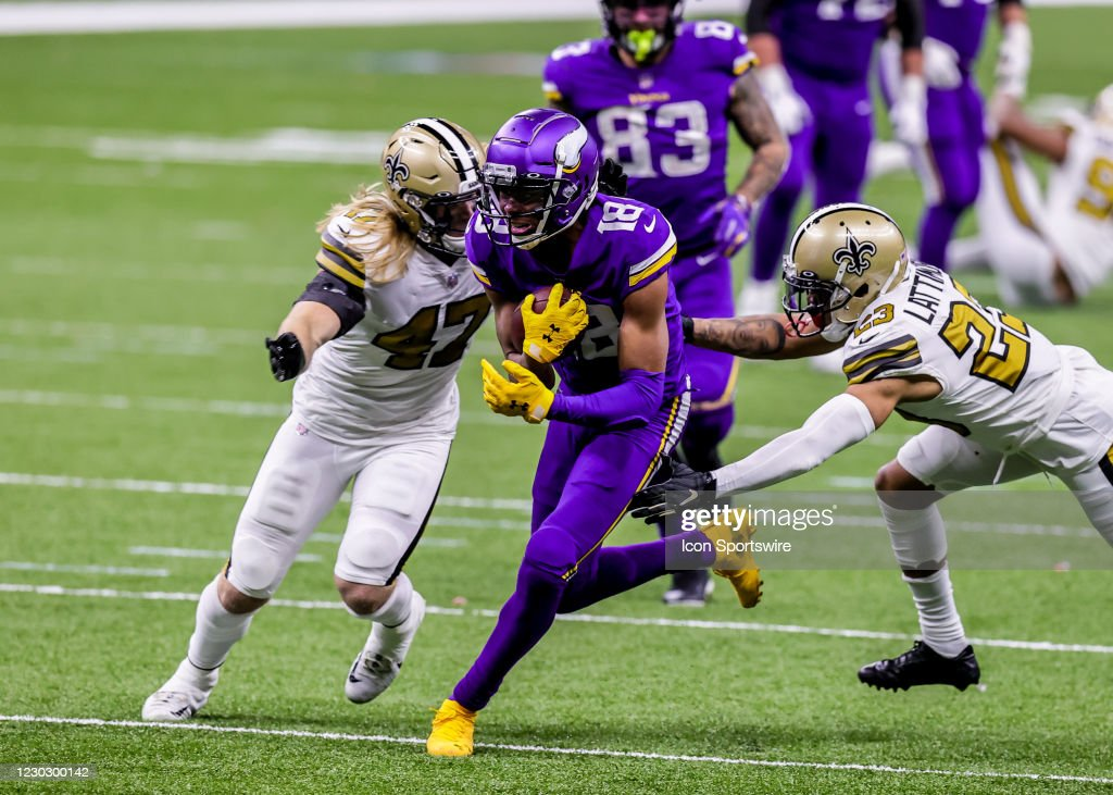 NFL: DEC 25 Vikings at Saints : News Photo