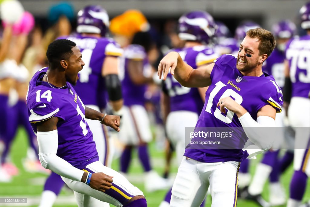 NFL: OCT 14 Cardinals at Vikings : News Photo