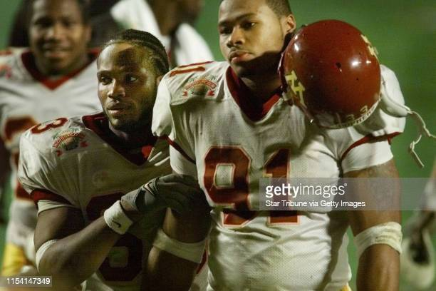 Minnesota vs North Carolina State Micron PCcom bowl Thursday 12/28/00 Thursday night at Pro Player staidum in Miami FlaRenato Fitzpatrick left...