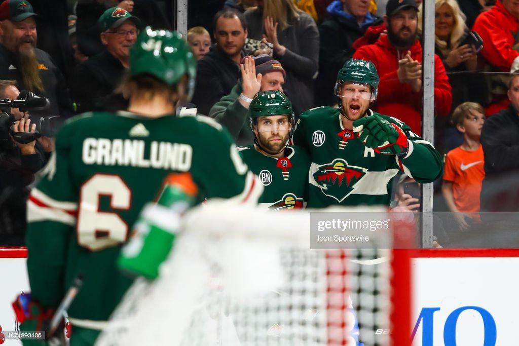 NHL: DEC 11 Canadiens at Wild : News Photo
