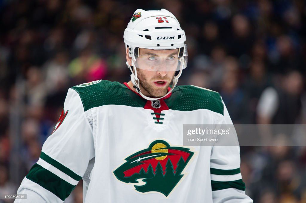 NHL: FEB 19 Wild at Canucks : News Photo