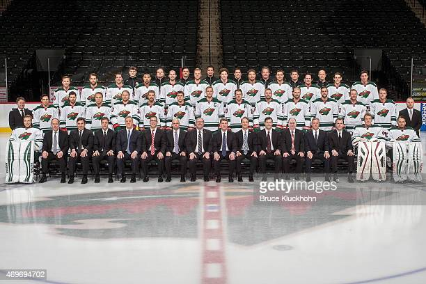 Front row Darcy Kuemper Goaltending Coach Bob Mason Assistant Coach Andrew Brunette Assistant Coach Darby Hendrickson Assistant Coach Rick Wilson...