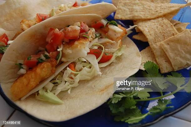Minnesotan fish tacos