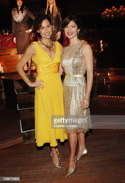 Minnie Driver and Jill Hennessy during Escada Showing and Cocktail Reception of Fall/Winter 2006 Collection Benefiting St Jude Research Hospital at...