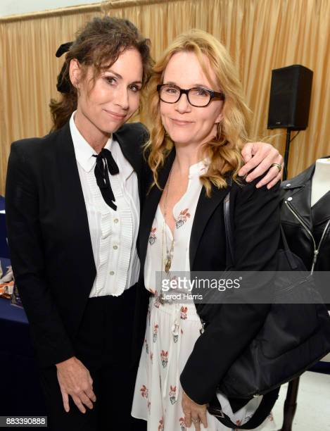 Minnie driver and Lea Thompson attend the Dress For Success WorldwideWest Seventh Annual Shop For Success Vip Event In Los Angeles on November 30...