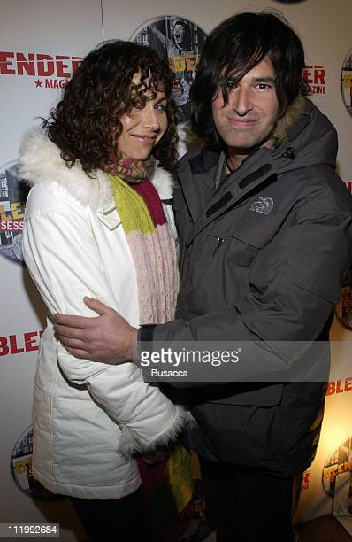 Minnie Driver and Pete Yorn during 2004 Park City Blender Sessions Trampoline Showcase Featuring Pete Yorn and Special Guest Minnie Driver at Harry...
