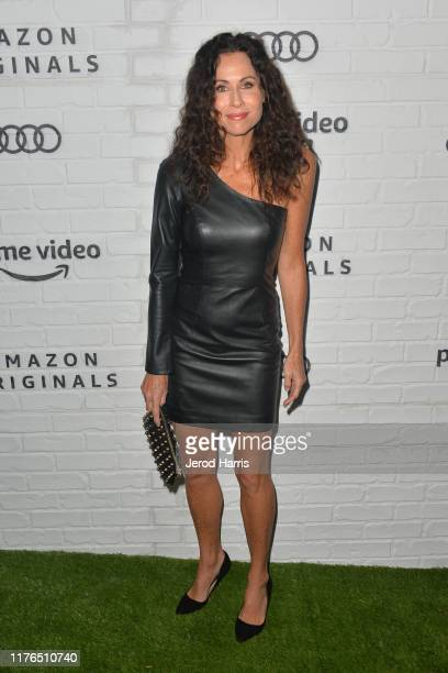 Minnie Driver arrives at Amazon Prime Video Post Emmy Awards Party 2019 on September 22, 2019 in Los Angeles, California.