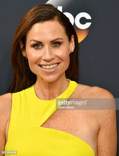 Minnie Driver arrives at the 68th Annual Primetime Emmy Awards at Microsoft Theater on September 18 2016 in Los Angeles California