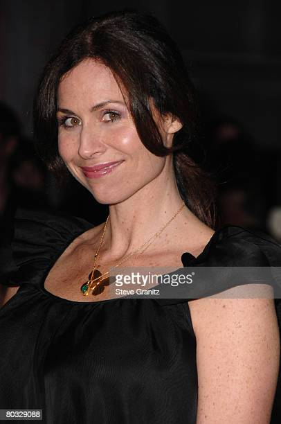 Minnie Driver arrives at the Prada Presents Trembled Blossoms LA on March 19 2008 at Prada Beverly Hills Epicenter in Beverly Hills California