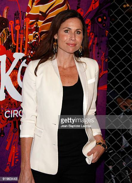 Minnie Driver arrives for the Cirque Du Soleil Opening Night Gala For Kooza at Santa Monica Pier on October 16 2009 in Santa Monica California