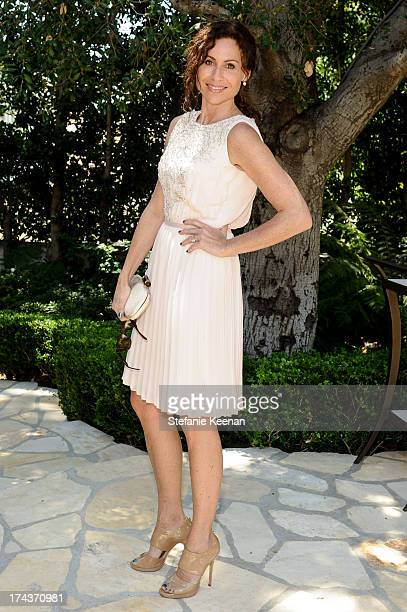 Minnie Driver attends Lorena Sarbu Resort 2014 Luncheon on July 24 2013 in Beverly Hills California