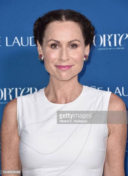 Minnie Driver attends PORTER's Third Annual Incredible Women Gala at The Ebell of Los Angeles on October 9 2018 in Los Angeles California