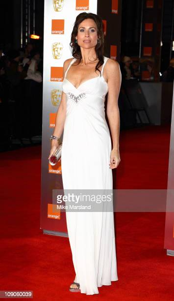Minnie Driver attends the 2011 Orange British Academy Film Awards at The Royal Opera House on February 13 2011 in London England