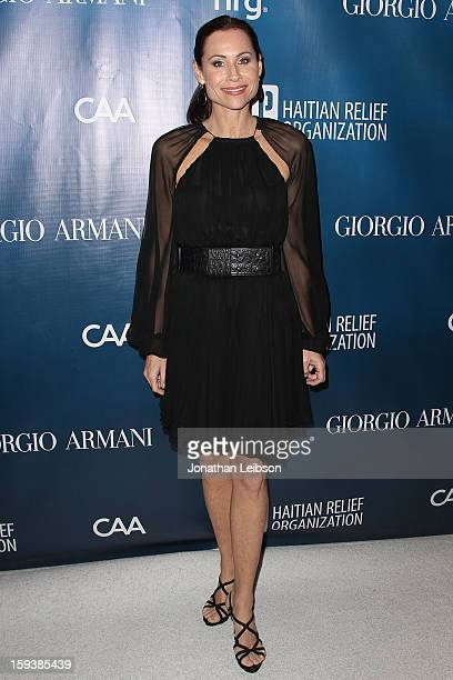 Minnie Driver attends the 2nd Annual Sean Penn & Friends Help Haiti Home Presented By Giorgio Armani - A Gala To Benefit J/P HRO - Arrivals at...