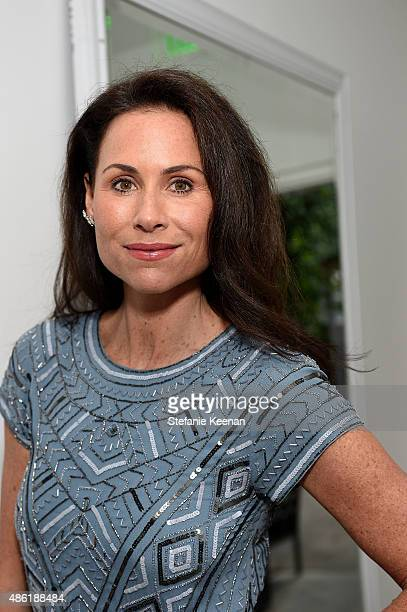 PTEMBER 01 Minnie Driver attends The A List 15th Anniversary Party on September 1 2015 in Beverly Hills California