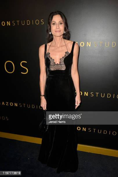 Minnie Driver attends the Amazon Studios Golden Globes After Party at The Beverly Hilton Hotel on January 05, 2020 in Beverly Hills, California.