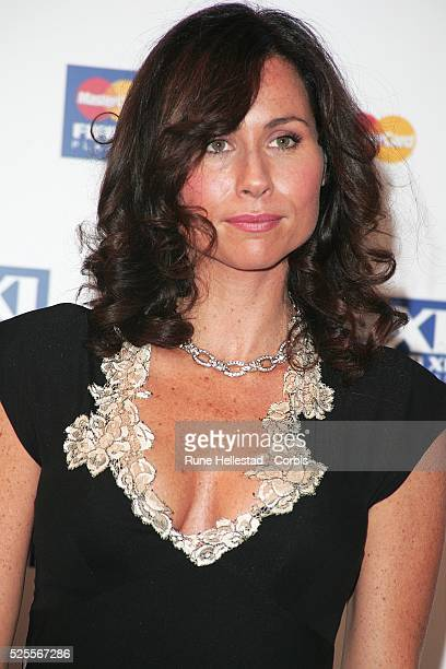 Minnie Driver attends the Fifapro World Player of the year awards at the BBC in London.