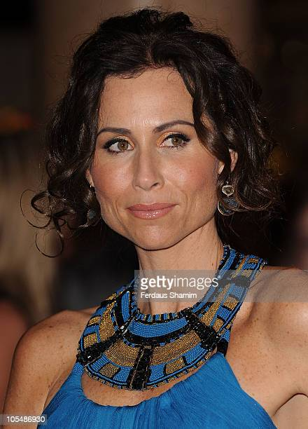 Minnie Driver attends the premiere of 'Conviction' 54th BFI London Film Festival at Vue West End on October 15 2010 in London England