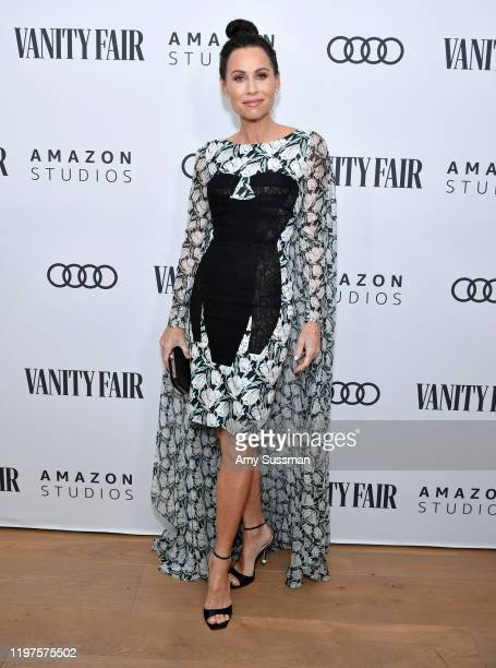 Minnie Driver attends The Vanity Fair x Amazon Studios 2020 Awards Season Celebration at San Vicente Bungalows on January 04 2020 in West Hollywood...