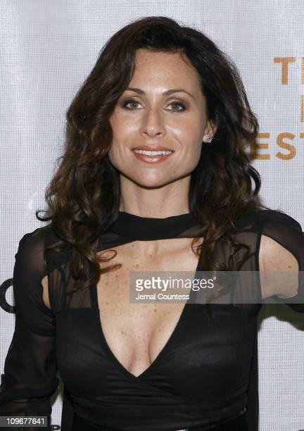 Minnie Driver during 6th Annual Tribeca Film Festival Take Premiere Inside Arrivals at Clearview Chelsea West in New York City New York United States