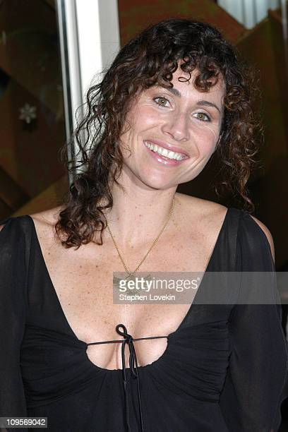 Minnie Driver during ACLU Freedom Concert - Arrivals at Avery Fisher Hall at Lincoln Center in New York City, New York, United States.